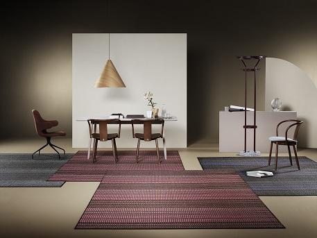 שטיחי בולון בתערכות העיצוב במילאנו