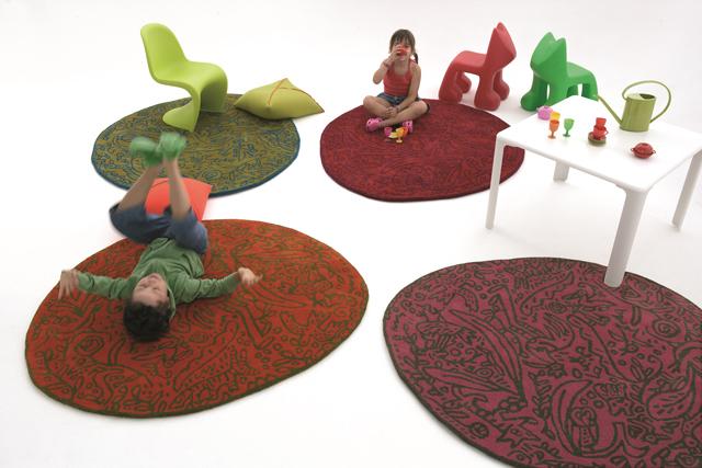 """ברשת טולמנ'ס מוכרים שטיחים בעיצובה של נני מרקינה לחדרי ילדים, צילום: יח""""צ"""