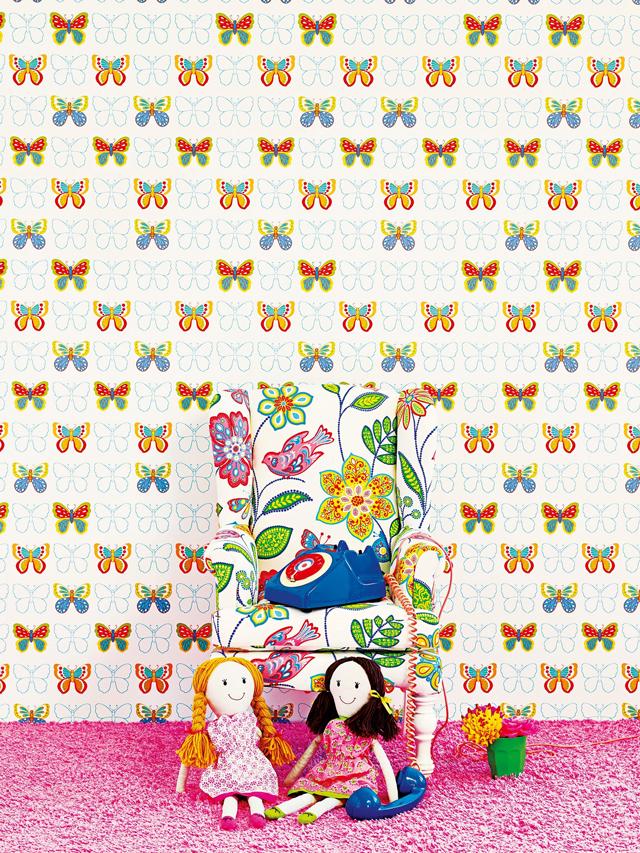 RENBY מוכרים טקסטיל לחדרי ילדים בעיצוב Jane Churchill