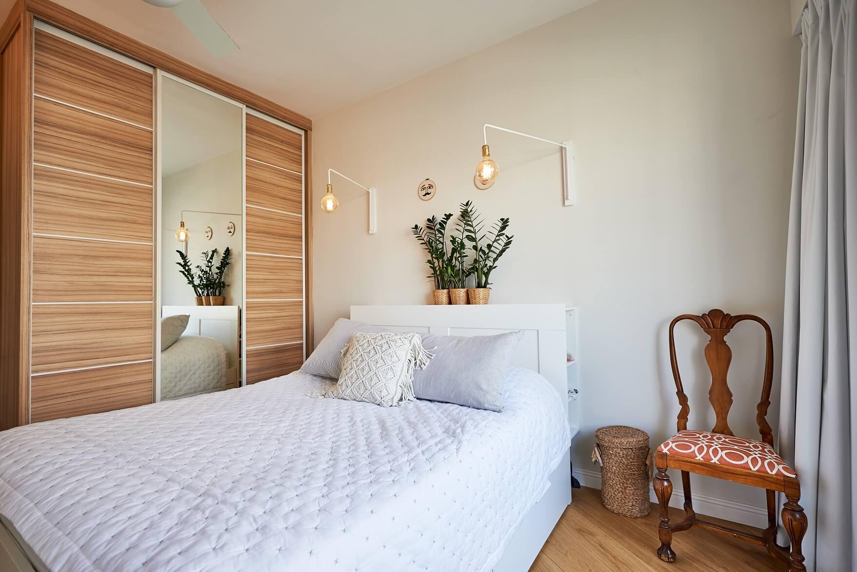 חדר השינה, עיצוב טל מידן, צילום: סיגל סבן