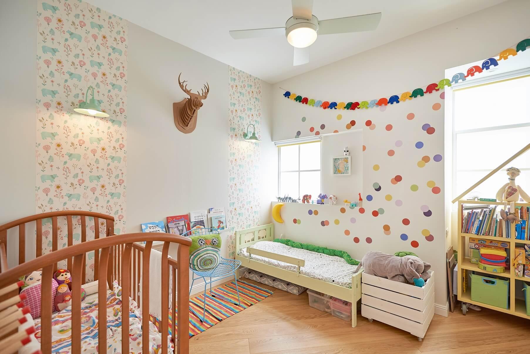 חדר הילדים, עיצוב טל מידן, צילום: סיגל סבן