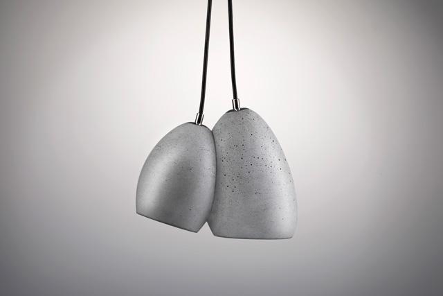 גוף התאורה Boulders grey של סטודיו ארדומה