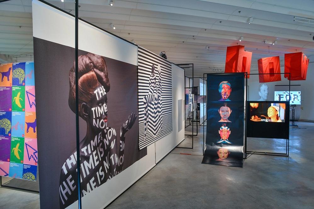 """העבודה """"איזון סתו חורף"""", 2015, מוצגת אף היא במוזיאון העיצוב, צילום: שי בן אפרים"""