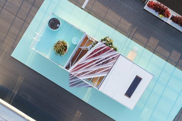MINI LIVING Urban Cabin -a micro-apartment concept travels the world