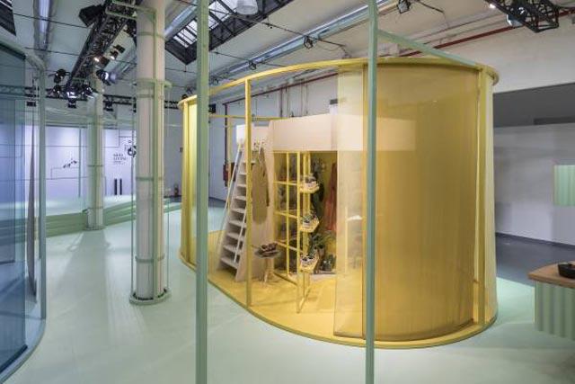 דירות המיקרו של MINI LIVING כפי שהוצגו ב-Salone del Mobile