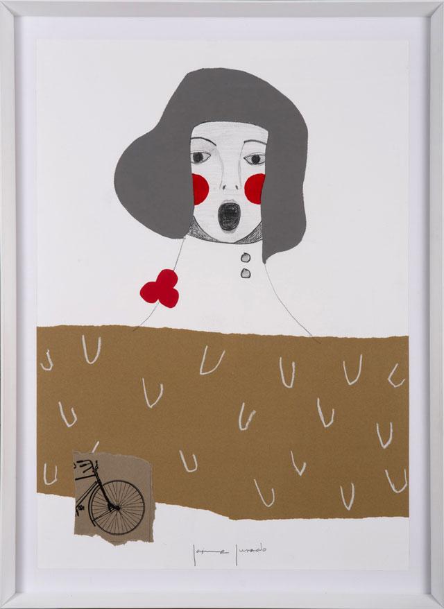 אמנות נכנסת ללב: יצירה של האמן JAIME JURADO, להשיג בסטודיו יפרח בן-צבי