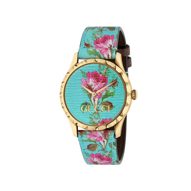 שעון יד צבעוני של גוצ'י שיזכיר את האביב, להשיג ברשת אימפרס