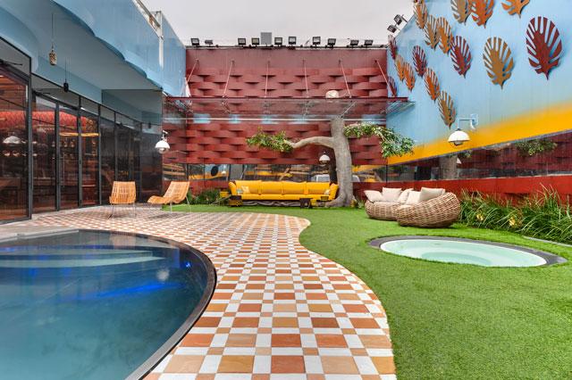 בית האח הגדול עונת ה-VIP, עיצוב: ערן בינדרמן, צילום: עודד סמדר