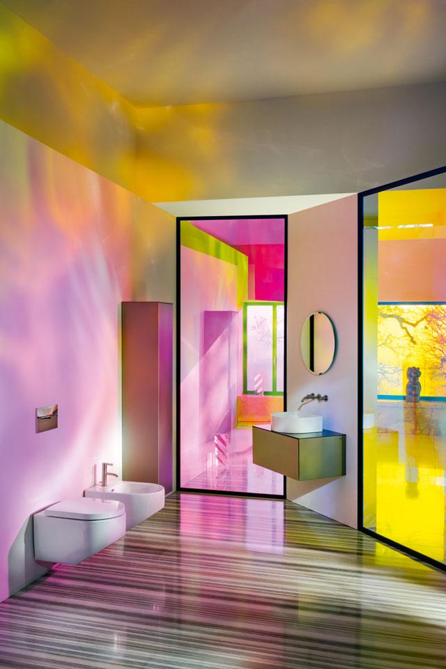 צבע בחדר הרחצה