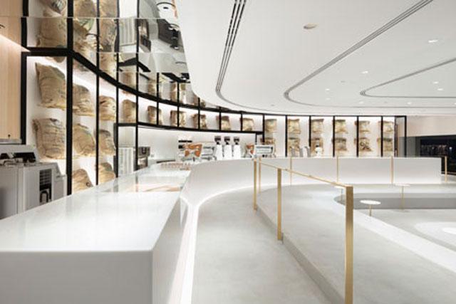 עולם של קפה, עיצוב של סטודיו ננדו, צילום: Takumi Ota