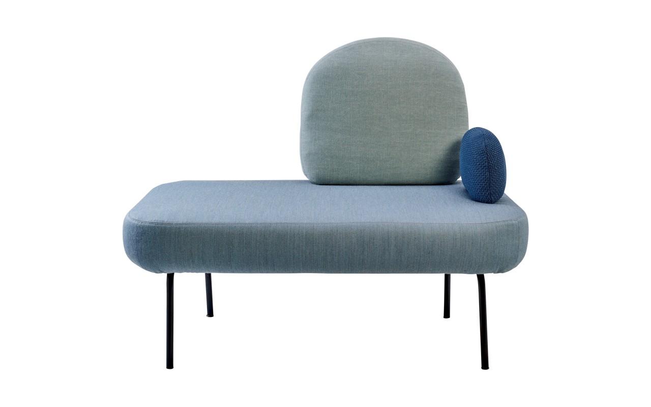 "between sofa blue של prat living גם בגרסת התכלת הבהיר, צילום: יח""צ"