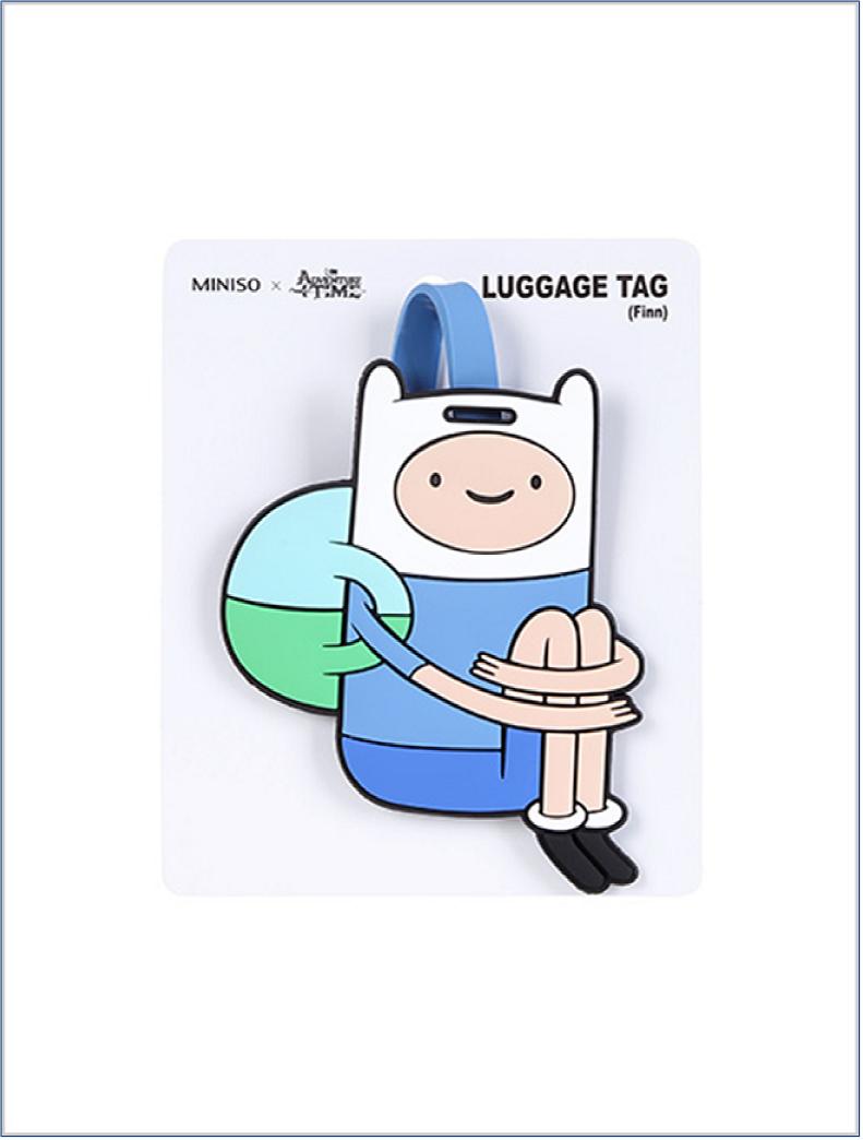מיניסו, תג למזוודה