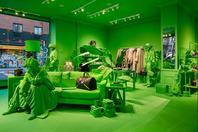 פופ אפ ירוק זוהר
