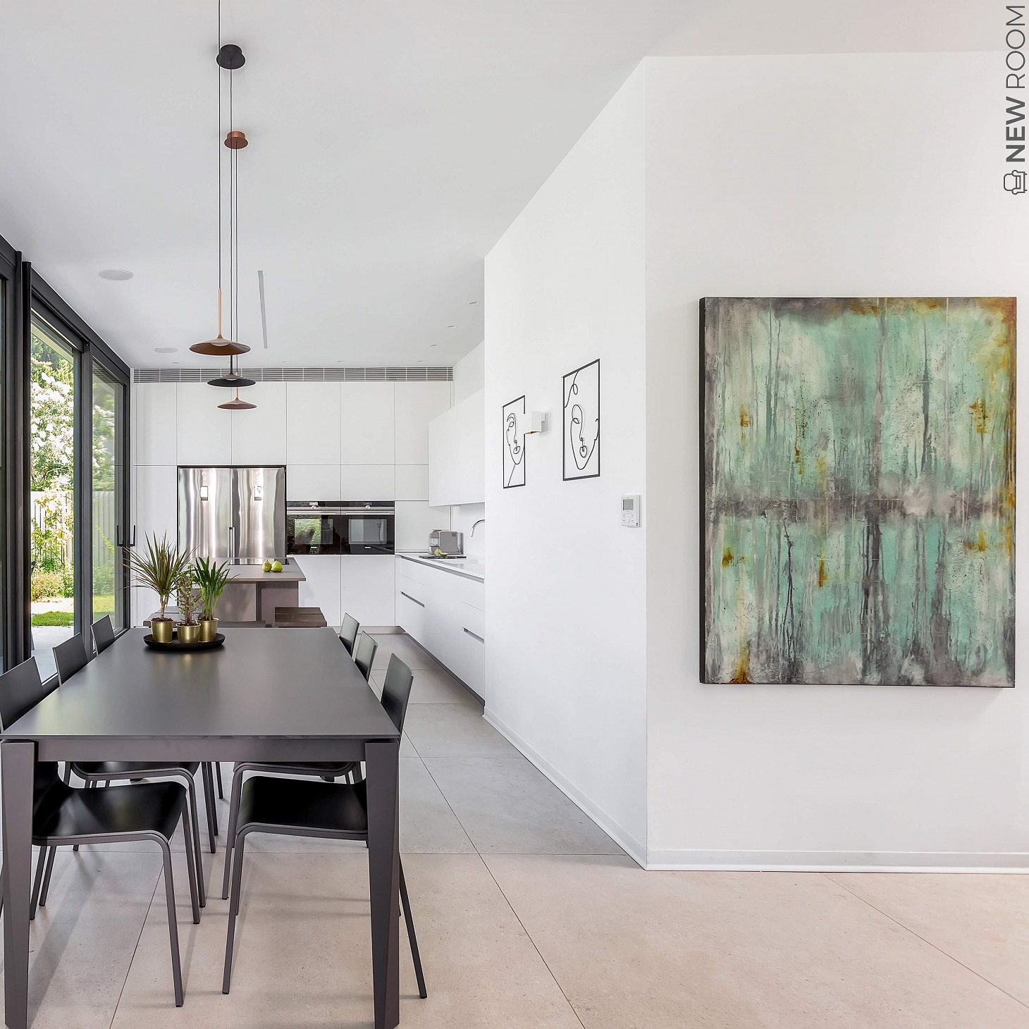 בית פרטי ברמת השרון - פרויקט של המעצבות יפית ומלי, צילמת: סוזי לוינסון