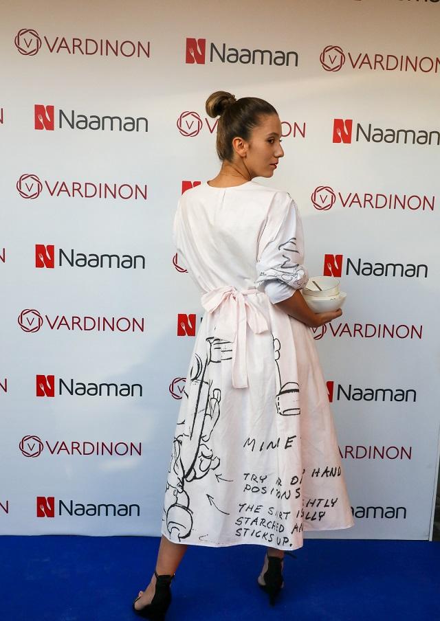 ורדינון 2020-2019, שמלה בהשראת דגם מורנינג עם מיני מאוס, צילום: רונן טופלברג