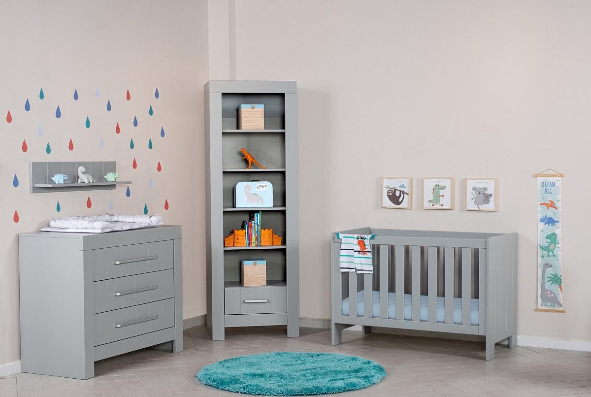 אפור וטרנדי: חדר תינוק בדגם Calmo ומקולקציית בייבי של עצמל'ה, צילום: שחר פליישמן
