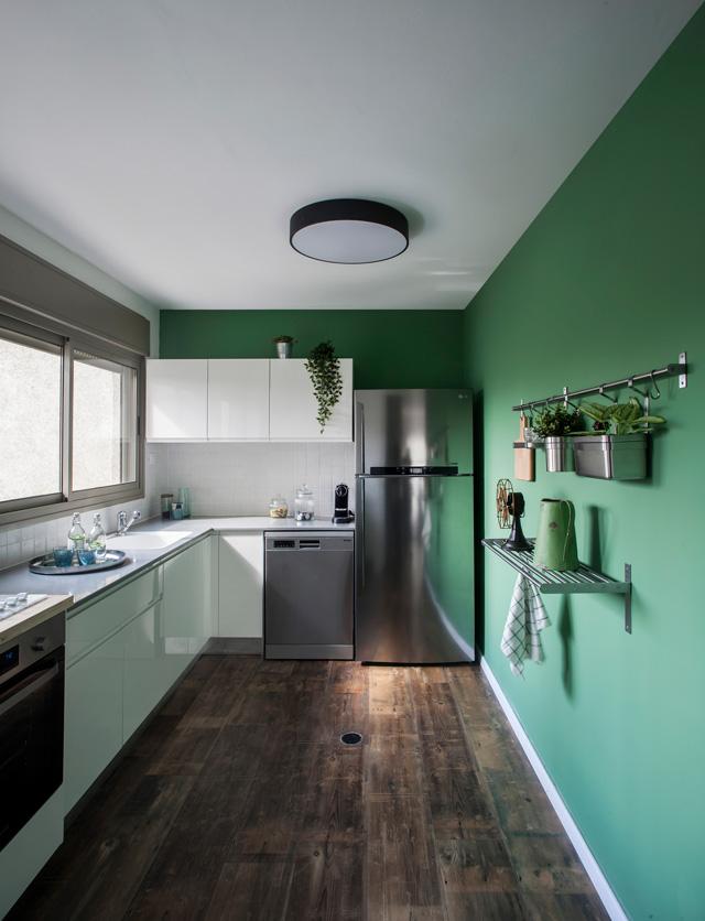 עוד ירוק בעיניים, עיצוב Studio Lagom, צילום יואב גורין