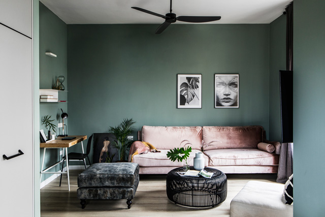 ירוק - צבע של צמיחה ושל טבע, עיצוב ורד בונפיליולי, צילום איתי בנית