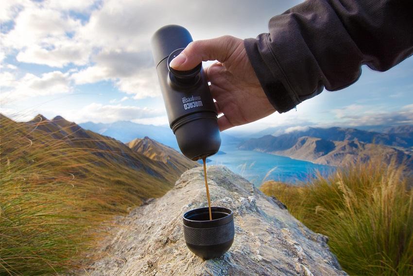 """WACACO מכונת קפה ניידת, 249 שקלים, להשיג ברשת סטורי, צילום יח""""צ חו""""ל"""