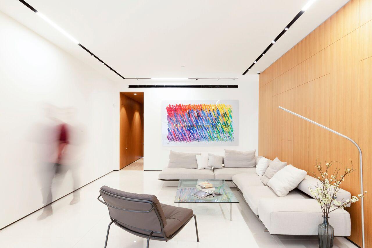 בתים מבפנים דירה של Ollech +Tol אדריכלים, צילום תומר אפלבאום