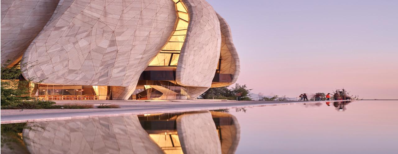 מקדש בהאי בצ'ילה Hariri Pontarini Architects זכה בפרס 2019 RAIC International