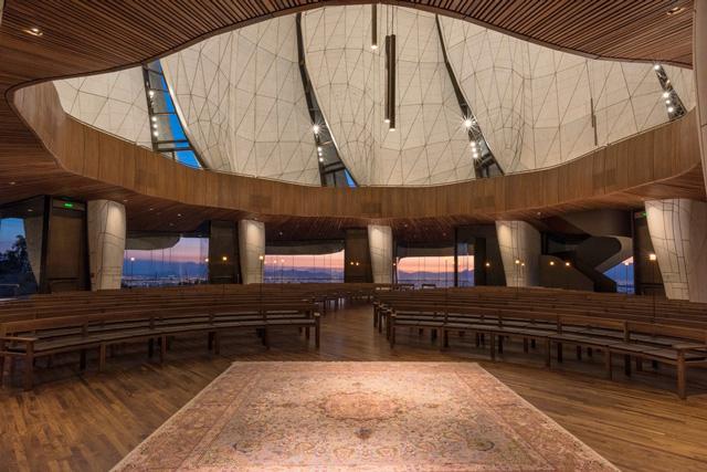 מקדש בהאי זכה בפרס אדריכלות