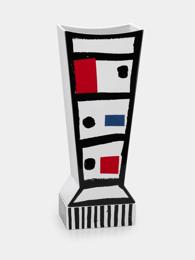 אגרטל Chicago, עוצב בידי Roger Selden במסגרת הקולקציה החדשה של קבוצת ממפיס