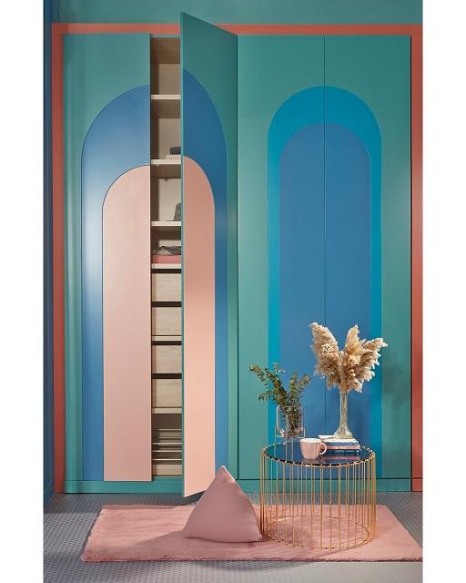 ארונות ריביירה, קולקציית ארט דקו מודרנית, צילום ישראל כהן. סטיילינג רוני טישלר רוזן