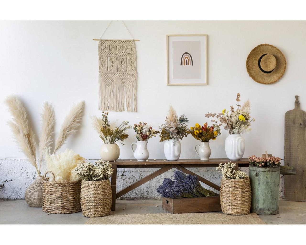 פרחים מיובשים עמידים לאורך שנים, להשיג בתומיק - בחנות ובאתר, צילום: בועז לביא, סטיילינג דיאנה לינדר