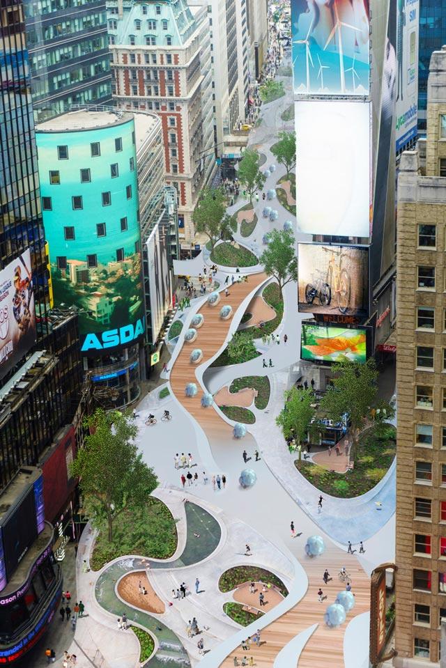 האם Times Square תיראה כך בעתיד?