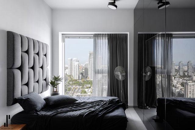 חדר השינה הזוגי, עיצוב שירי שלום, צלם: אורן עמוס