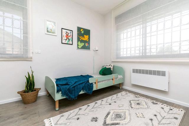צבעי הדגל בעיצוב הבית